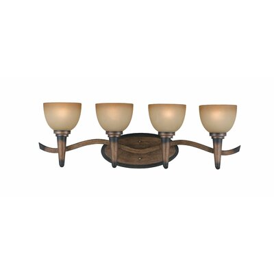 Triarch Lighting Olympian 4 Light Vanity Light