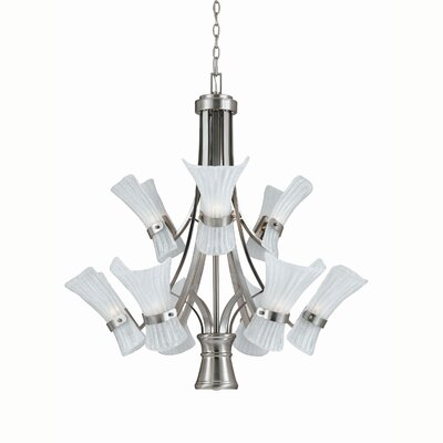 Triarch Lighting Bali-II 9 Light Chandelier