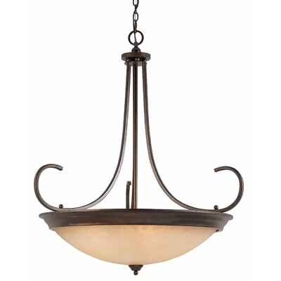 Triarch Lighting La Costa 10 Light Inverted Pendant