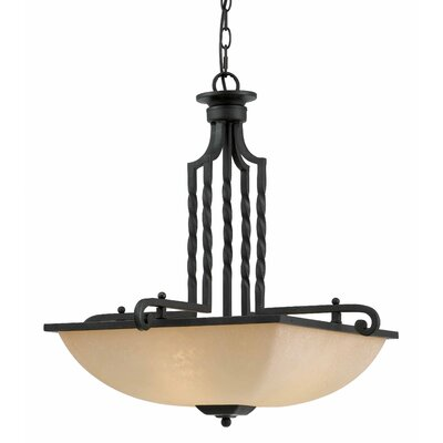 Granada 3 Light Inverted Pendant