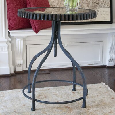 Gears End Table