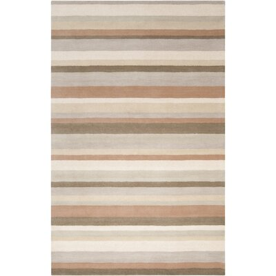 angelo:HOME Madison Square Oyster Gray Multi Rug