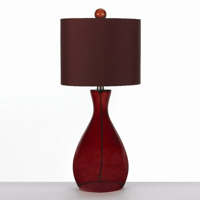 """angelo:HOME 26"""" H Hand Blown 1 Light Table Lamp"""
