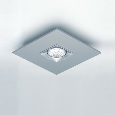 Zaneen Lighting Polifemo Flush Mount in Metallic Gray