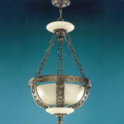 Zaneen Lighting Melilla Pendant in Rustic Bronze