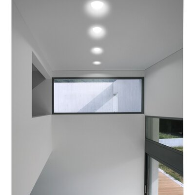 Zaneen Lighting Invisibli 1 Light Recessed Adjustable LED