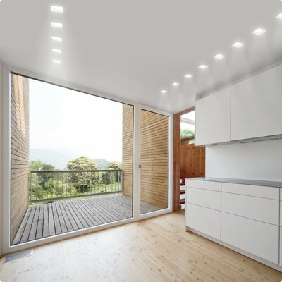 Zaneen Lighting Invisibli Recessed Adjustable LED SpotLight