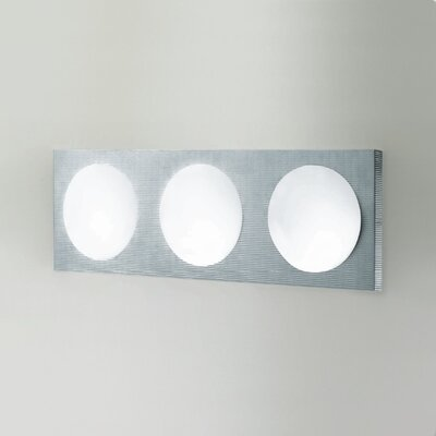 Zaneen Lighting Dome 3 Light Wall Sconce