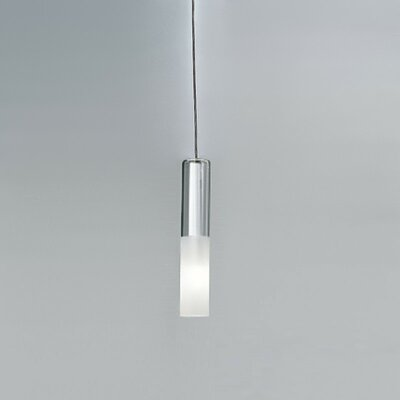 Zaneen Lighting Jazz Single Light Pendant in Chrome