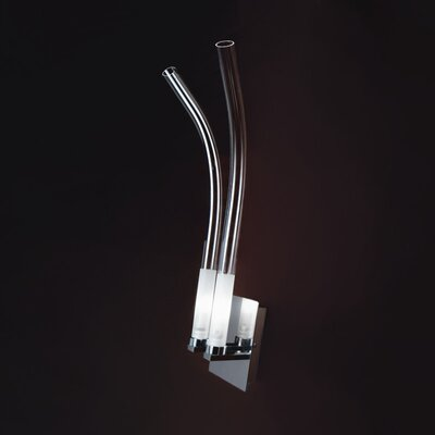 Zaneen Lighting Wave 2 Light Wall Sconce