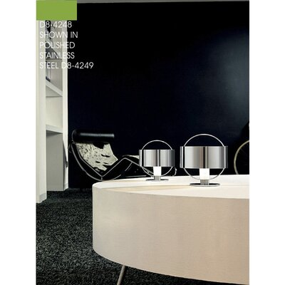 """Zaneen Lighting Ring 6.13"""" H Table Lamp with Drum Shade"""