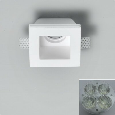 Zaneen Lighting Invisibli 4 Light Recessed Fixed LED Step Light