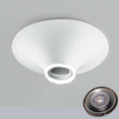 Zaneen Lighting Invisibli 1 Light Recessed Round Fixed LED SpotLight