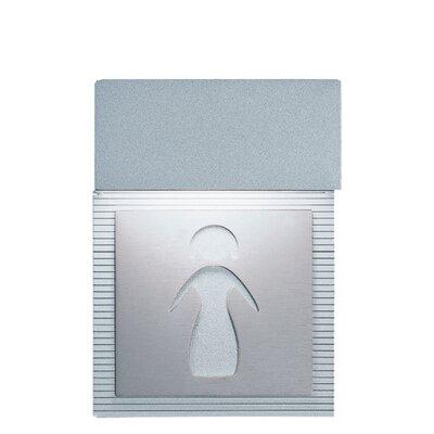 Zaneen Lighting Mini Signal Ladies Room Wall Light