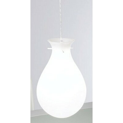 Zaneen Lighting Ona Pendant with White Acrylic Glass
