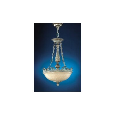 Zaneen Lighting Ibiza Traditional Pendant in Ancient Silver