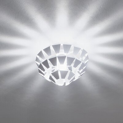 Zaneen Lighting Puskin Flush Mount in White