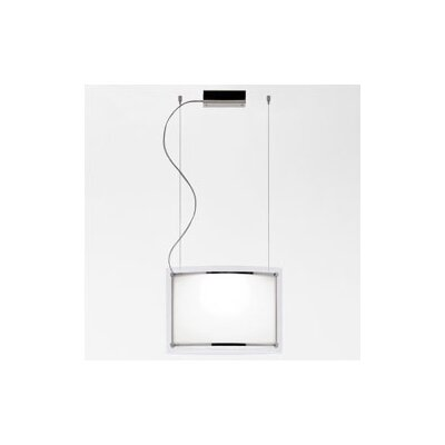 Zaneen Lighting Vision Single Light Pendant in Chrome