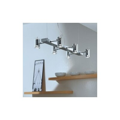 Zaneen Lighting Tu-B Six Light Pendant