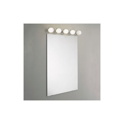 "Zaneen Lighting Bano 35"" 5 Light Contemporary Vanity Light"