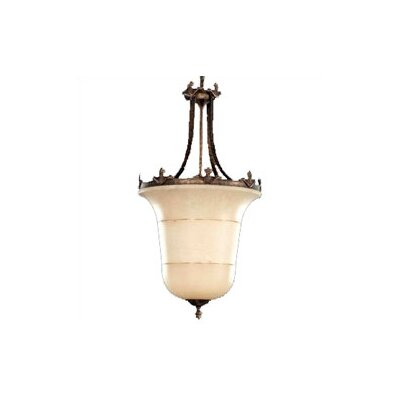 "Zaneen Lighting Vidra 54"" Pendant in Rustic Bronze"