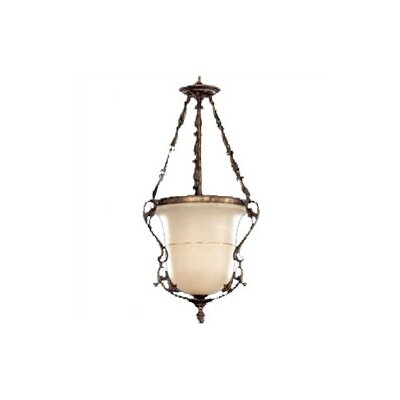 "Zaneen Lighting Zona 45"" Pendant in Rustic Bronze"