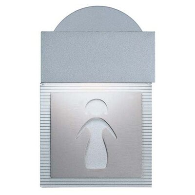Zaneen Lighting Mini Signal Ladies Room Wall Light