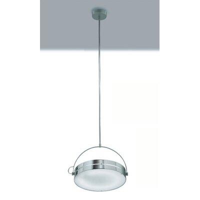 Zaneen Lighting Tamburo Pendant in Chrome