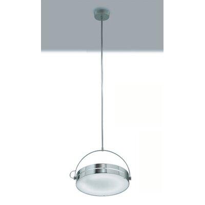 Zaneen Lighting Tamburo Pendant in Chrome