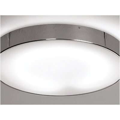 Zaneen Lighting Inoxx 1 Light Flush Mount