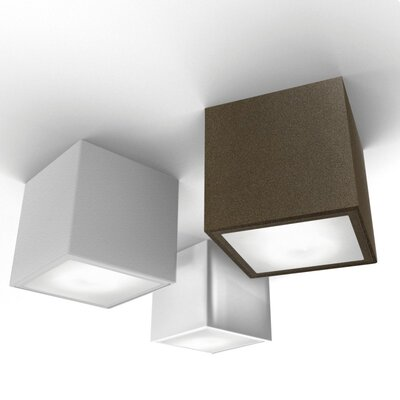 Zaneen Lighting Three 1 Light Semi Flush