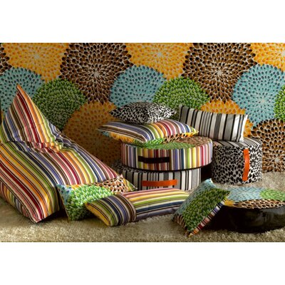"Missoni Home Rainbow Cushion 12"" x  24"""