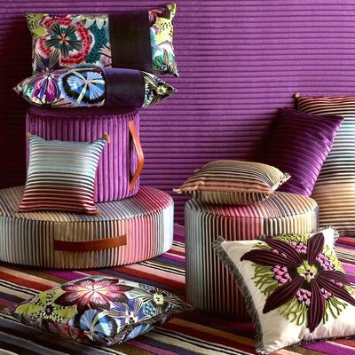 Missoni Home Passion Flower Cushion 14""