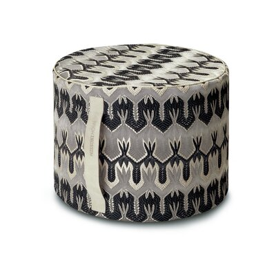 Missoni Home Ormond Cylindrical Pouf Ottoman