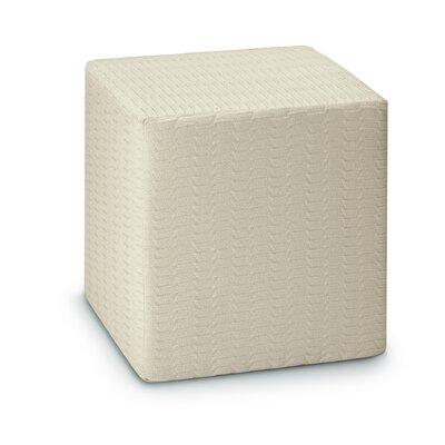 Master Classic Trevira Oden Pouf Cube Ottoman
