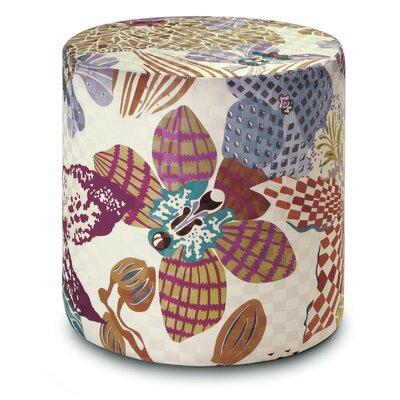 Mekele Cylindrical Pouf Ottoman