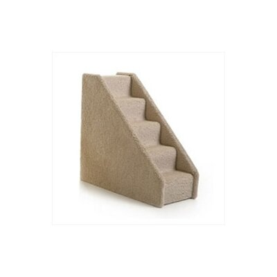 Small Solid Side 5 Step Pet Stair