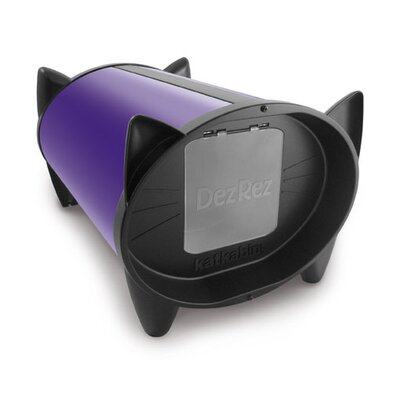 KatKabin by Brinsea Outdoor Cat House in Divine Purple