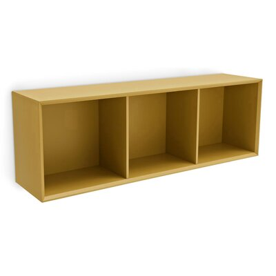 Calligaris Inside 3 Shelf Horizontal Wall Unit