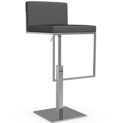 "Calligaris Even Plus 25.38"" Adjustable Swivel Bar Stool"