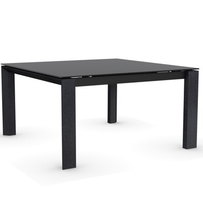 Omnia Glass Square Extendable Table