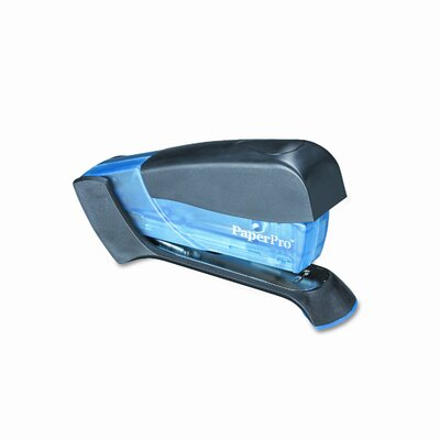 Accentra, Inc. Compact Stapler, 15 Sheet Capacity, Translucent Blue