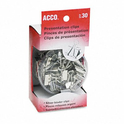 Acco Brands, Inc. Presentation Clips, 30/Box