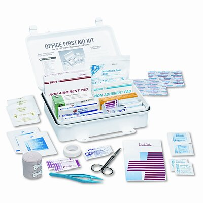 Acme United Corporation First Aid Kits for 15 People, 119 Pieces, Plastic Case