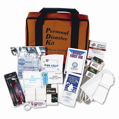 Acme United Corporation Personal Disaster Kit for One Person