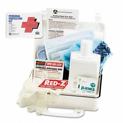 Acme United Corporation Physicianscare Emergency First Aid Bodily Fluid Spill Kit