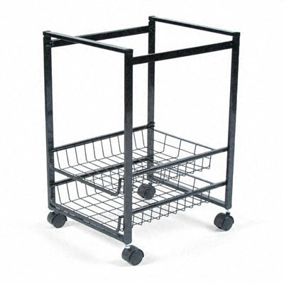 Advantus Corp. Mobile File Cart with Sliding Baskets