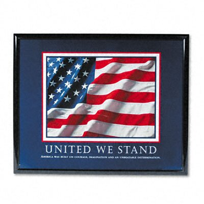 "Advantus Corp. ""United We Stand"" Framed Motivational Print, 31-1/2w x 25-1/2h"