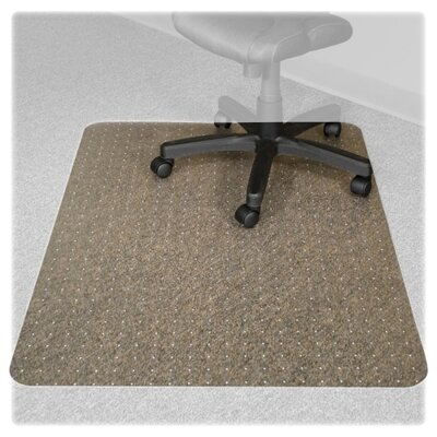 Advantus Corp. Recyclear Chairmats for Carpets, 36 X 48, 20 X 12 Lip