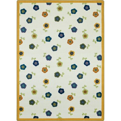 Joy Carpets Just for Kids Awesome Blossom Bold Kids Rug